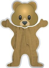 GRIZZLY PUDWILL TOREY BEAR STICKER DECAL 1pc