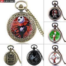 Retro Quartz Pendant Vintage Nightmare Pocket Watch New Retro Necklace Gift