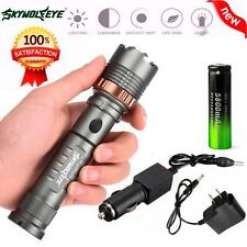 5000LM CREE XM-L T6 LED Tactical Torch light Flashlight +18650 Battery+Charger