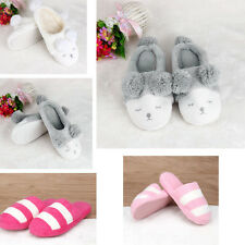 Winter Plush Slipper Stripe Cute Men And Women Slipper Warm Indoor Home Slippers