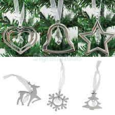 Christmas Alloy Tree Phone Hanging Décor - Bell/Tree/Elk/Snowflake/Star/Heart