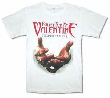 Bullet For My Valentine Hands White T Shirt New Official Adult Mens