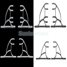2Pcs Heavy Metal Curtain Drapery Rod Bracket Holder Rack fits 25mm Drape Rods
