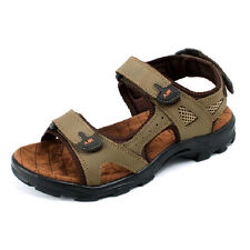 Summer Mens Beach Surfing Hiking Leather Casual Sandals Outdoor Non-slip Sandals