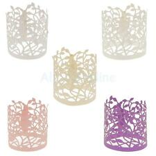 20pcs Flower Leaves Paper Tea Light Holder Wedding Party Decoration