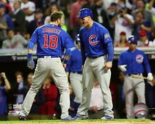 Ben Zobrist & Anthony Rizzo Chicago Cubs World Series Photo TN033 (Select Size)
