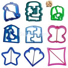 Kids Lunch Sandwich Cake Bread Toast Cookies Biscuit Food Cutter Mold Mould Tool