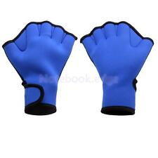 Pair Neoprene Swimming Gloves Frog Hand webbed Swim Aid Paddle Palm Hand wear