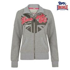 Lonsdale Ladies Zip Sweater Guestling Girl Cardigan Jumper Jacket XS to XL