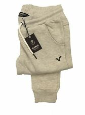 LADIES VOI JEANS SLIM FIT JOGGING BOTTOMS JOGGERS DREAMER - STONE