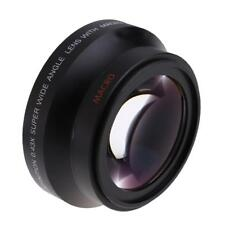 Wide Angle Aluminium Alloy Macro Auxiliary Lens For Canon18-135 Camera Lens