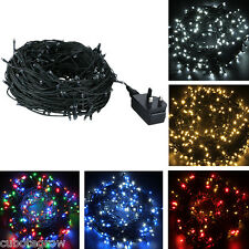EXCELVAN 250 LED STRING FAIRY LIGHTS CHRISTMAS PARTY XMAS WEDDING LIGHT CHEER UP
