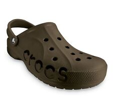 OFFICIAL CROCS BAYA ADULT MENS CLOGS UNISEX Shoes NIB BNWT Chocolate 10126-200