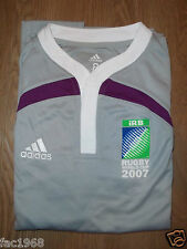 Adidas iRB Rugby World Cup 2007 Player Issue Rugby Shirt Adidas 8 New
