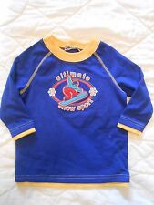 *NWT* BOYS BLUE TOP of 'ULTIMATE SNOW SPORT'  SIZE 12 MONTHS