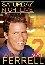 Saturday Night Live - The Best of Will Ferrell: Vol. 2 (DVD, 2004) NEW SEALED