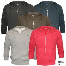 Mens Scout Zip Through Hooded Sweat Top Italian Leisurewear New To The Uk