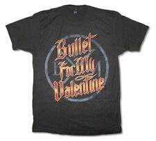 Bullet For My Valentine New BFMV Logo Black T Shirt New Official