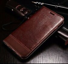 Luxury Wallet Case Magnetic Flip Leather Stand Cover Pouch For iPhone Samsung Y
