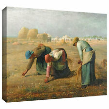 ArtWall 'The Gleaners' by Jean Francois Millet Painting Print on Wrapped Canvas