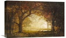 'Forest Sunrise' by Albert Bierstadt Painting Print on Wrapped Canvas