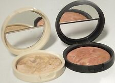 Laura Geller MEDIUM Balance N Brighten Baked Foundation Full Size w/Blush Choice
