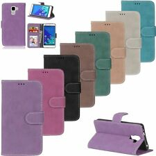 Luxury Flip Leather Wallet Card Cash Stand Skin Cell Case Cover For Huawei Honer