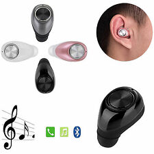 Wireless Mini Bluetooth Headset Earphone Stereo Earpiece For iPhone Samsung ASUS