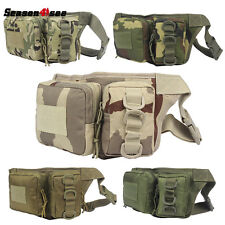 600D Nylon Tactical Military Waist Pouch Bag Pack Eren Pockets Outdoor Sports
