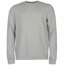 Firetrap Mens Seam Sweater Ribbed Zip Warm Pullover Long Sleeve Crew Neck Top