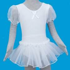 Fashion Cute Girl Kids Ballet Dance Dress Gymnastic Leotard Tutu Size 5-6Ys
