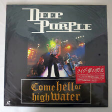 e30 Japan Laserdisc DEEP PURPLE Come Hell or High Water Talk About Love, Anya κ