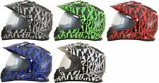 AFX FX-39SE FX39 SE Dazzle Snowmobile Helmet with Electric Heated Shield