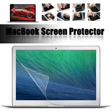 For Apple Macbook Air Pro Retina Clear Screen Protector HD LCD Film Guard Cover
