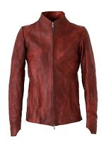 DEVOA x Fascinate 16−17AW Guidi Calf Leather Jacket RED Imported Japan F/S