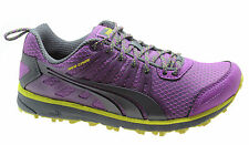Puma Faas 300 TR Womens Trainers Running Shoes Purple Mesh Lace Up 186531 05 D32