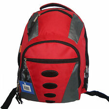 """Wholesale Lot Red 24pcs 17"""" Travel Backpack School Bag Day Pack Book Bag LM160"""