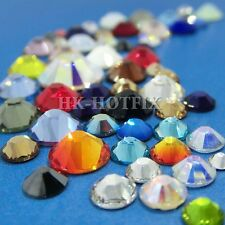 ss20 Authentic Swarovski (NO Hotfix) Crystal FLATBACK Rhinestone 20ss 5mm setJ