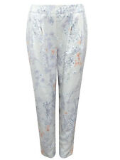 Marks & Spencer Autograph Silky Pastel Floral Crop Trousers Orig Price £49
