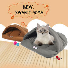 1PC Cat Puppy Kennel Sofa Slippers Shape Pet  Dog Sleeping Bag Warm Winter Nest