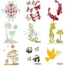 Wall Painting Stencil Template Plastic Mural Home Improvement Decor