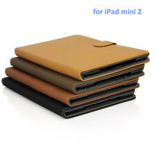 Brand New  Leather Smart Case Stand Cover for Apple ipad mini2 ipad 2/3/4