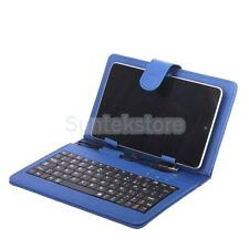 "USB 2.0 Leather Cover Case  w/ Stand Keyboard for 7"" Inch Tablet PC PDA Android"