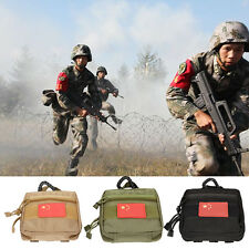 Molle Tactical Military 1000D EDC Utility Bag Medical First Aid Pouch Case Tool