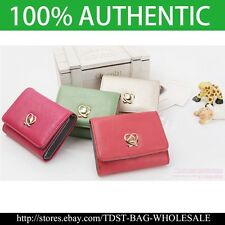 [Fromb]Korea WOMEN'S Pinky Melody Card Half Wallet  M719S -Gold /Red /Pink