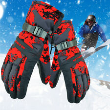 Unisex Thermal Winter Ski Gloves Waterproof Windproof Snow Snowboard Sports