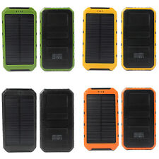 20000mAh Dual USB Portable External Solar Battery Charger Power Bank For Phones