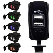 Universal Dual USB Car Auto Socket Lighter Charger Adapter 3.1A 12V