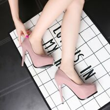 Fashion Artificial PU Round Toe Platform Stiletto High Heels Sandals Women Shoes