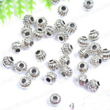 5*4MM Tibetan Charms Spacer Beads Jewelry Findings Making DIY Crafts Little